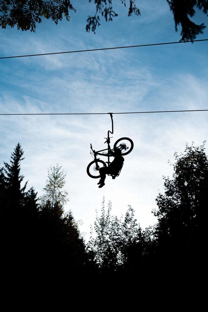 Kurze Wanderungen rund um Rosenheim, Bikepark Samerberg