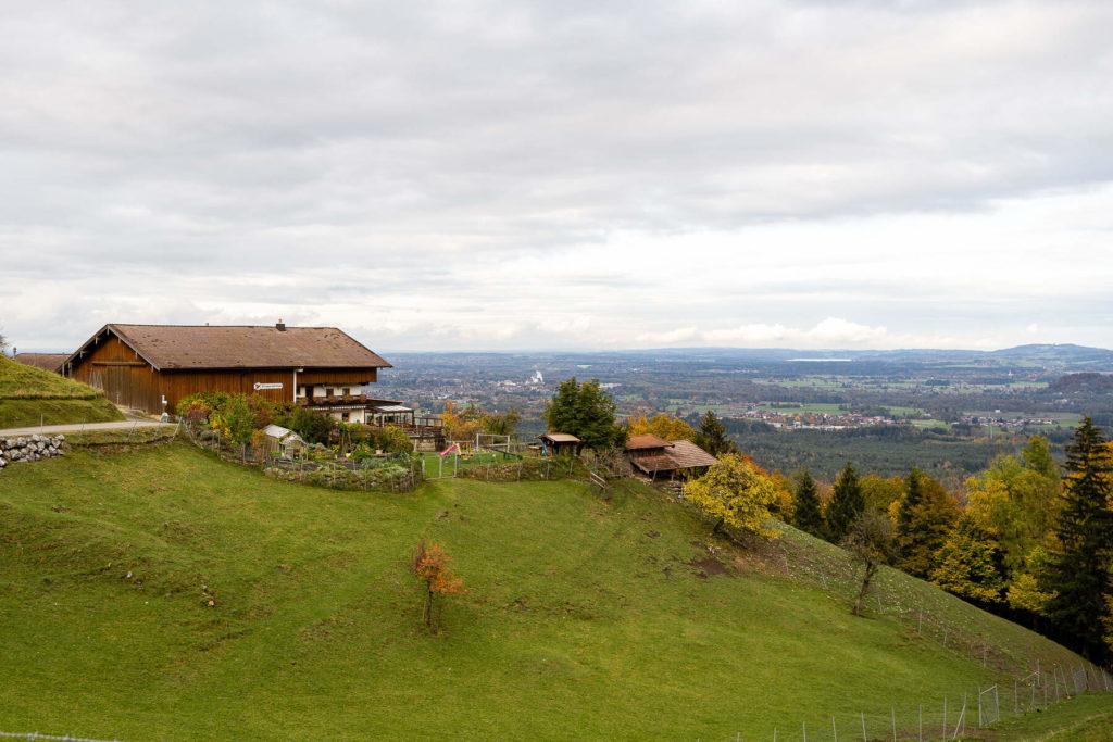 Kurze Wanderungen rund um Rosenheim, Berggasthof Kogl