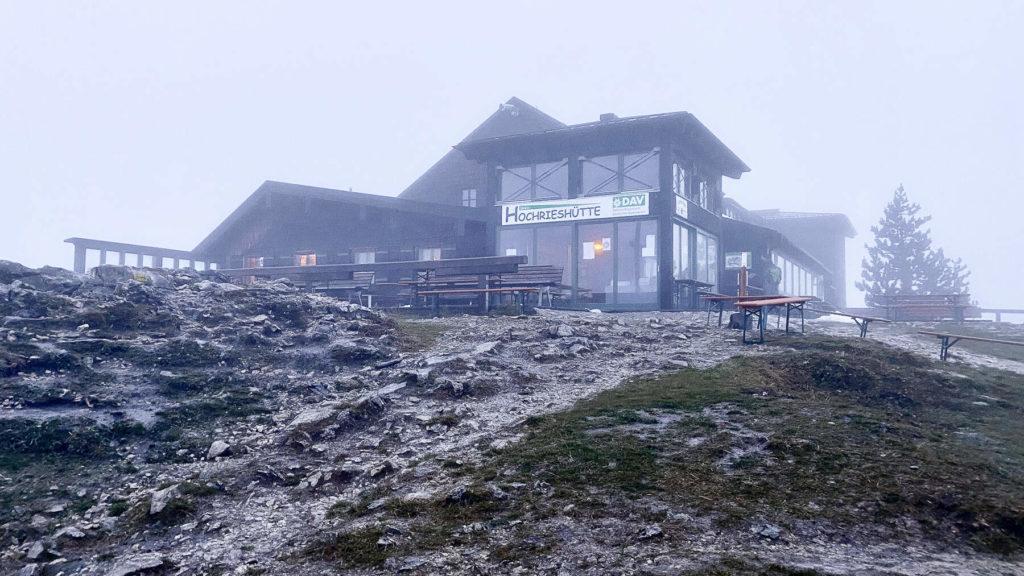 Hüttenübernachtung auf der Hochrieshütte